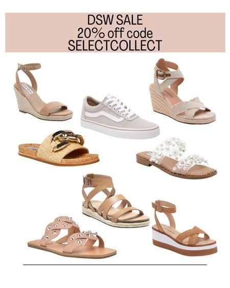 DSW Sale. Summer sandals. Summer wedding. Vacation.   #LTKsalealert #LTKunder50 #LTKshoecrush