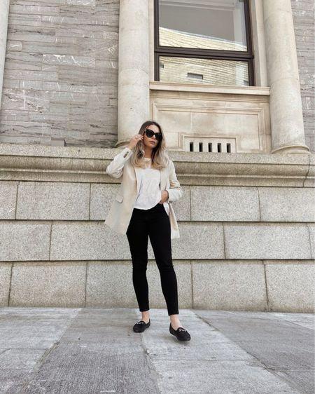Neutral fashion, ootd, blazer, chic fashion, H&M, Gucci, ootd, ootd blogger, fashion blogger, style blogger http://liketk.it/3hODb #liketkit @liketoknow.it