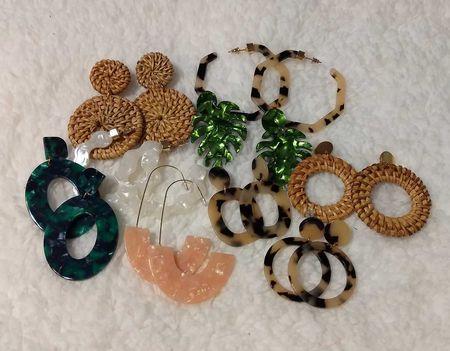A different pair of earrings for each day of the week.  Yes, please!  #LTKstyletip #LTKunder50 #LTKSeasonal