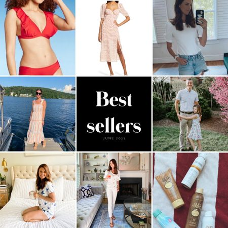 Best sellers, favorites, monthly favorites, summer best, summer outfits, red bikini, summer dresses  #LTKtravel #LTKstyletip #LTKswim