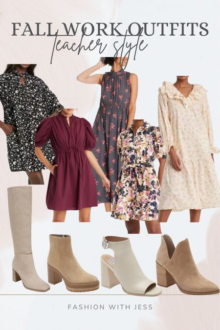 Fall work outfits for Teachers Shop your screenshot of this pic with the LIKEtoKNOW.it shopping app http://liketk.it/3kCh8 @liketoknow.it #liketkit #LTKstyletip #LTKunder100 #LTKworkwear