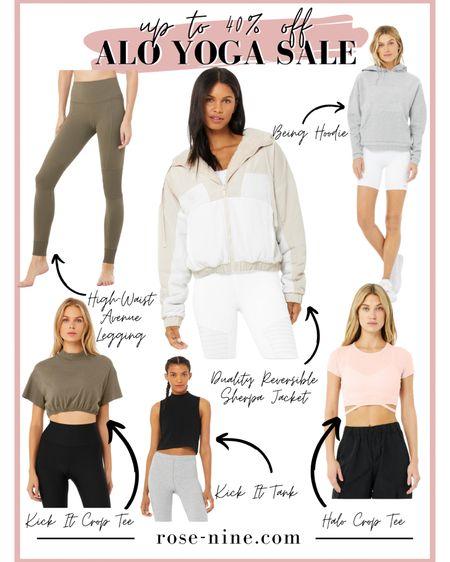 Alo Yoga Sale Must Haves! My favorite workout clothing is on sale now☺️ #LTKsalealert #LTKfit #LTKunder100 #liketkit @liketoknow.it http://liketk.it/3eZq2