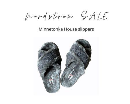 #nsale super comfy Minnetonka house slippers   #LTKunder50 #LTKshoecrush #LTKsalealert