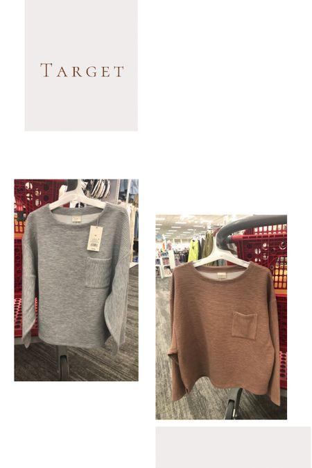 Comfiest oversizedong sleeve tees perfect for fall!!  @target   #LTKSeasonal #LTKstyletip #LTKunder50