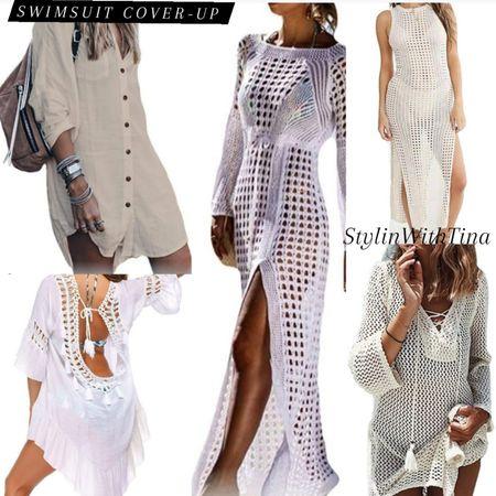 Swimsuit cover-up. Vacation and beach ready. Spruce up your swimsuit.  #coverup#coverups#beachready #resortwear#swimwear#amazonfashion #amazonswim#vacationwear#amazon #swimcoverup#vacationoutfit#ltkswim http://liketk.it/3gAcc #LTKDay #LTKsalealert #LTKstyletip #LTKunder50 #LTKunder100 #LTKtravel #LTKfamily #LTKswim #LTKitbag @liketoknow.it #liketkit