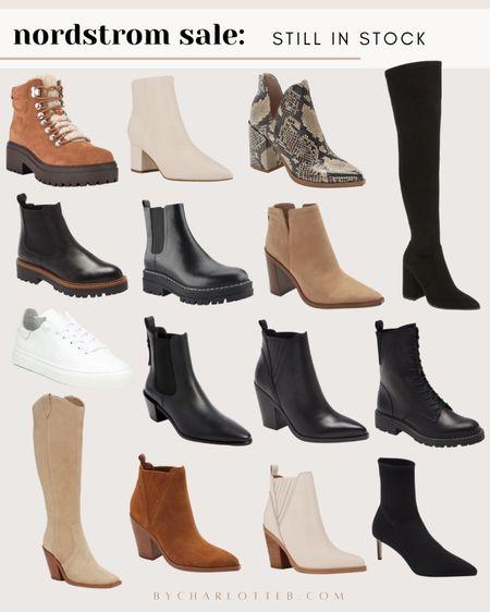 Nordstrom anniversary sale: boots that are all still in stock!   #LTKshoecrush #LTKunder100 #LTKsalealert
