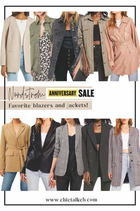 Favorite jackets and blazers from the Nsale! Save your favorites and shop tomorrow! The sale finally open up to the public!   #LTKsalealert #LTKunder100 #LTKstyletip