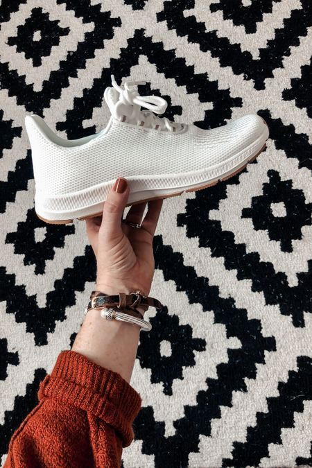 How GOOD are these Walmart sneakers! ❤️ so cute and a great casual sneaker for fall outfits! @liketoknow.it #liketkit http://liketk.it/2XWpV #LTKsalealert #LTKshoecrush #LTKunder50
