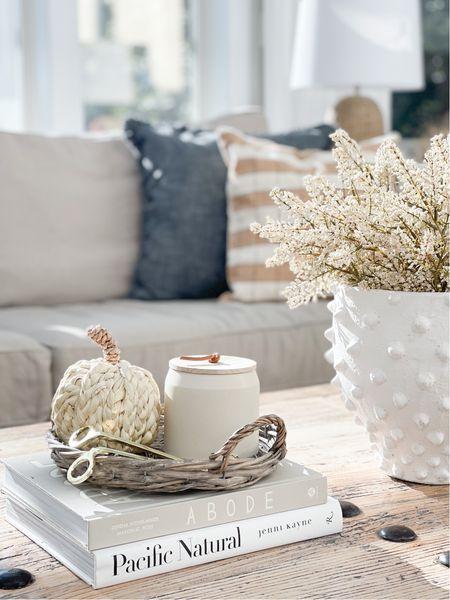 Fall coffee table decor  #LTKSeasonal #LTKhome #LTKHoliday