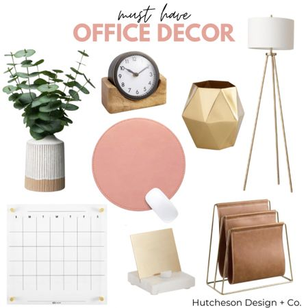 Every office needs decor! Here are a few of my favorites ✨ •  Follow me on the LIKEtoKNOW.it shopping app to get the product details for this look and others   http://liketk.it/373IL #liketkit @liketoknow.it #LTKunder50 #LTKhome @liketoknow.it.home