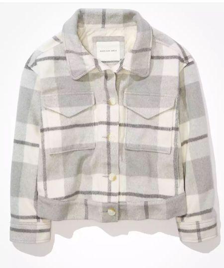 Flannel shacket     #LTKSeasonal #LTKstyletip #LTKunder100
