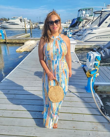 Summer dress. http://liketk.it/3ixxI @liketoknow.it #liketkit #LTKunder50 #LTKtravel #LTKstyletip #LTKswim Download the LIKEtoKNOW.it app to shop this pic via screenshot