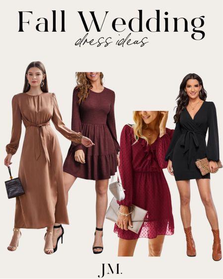 Fall wedding dress ideas. Super affordable from Shein   #LTKunder50 #LTKstyletip #LTKsalealert