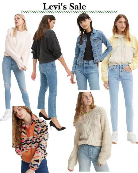 Levi's on sale. Levi denim. Levi jeans on sale. Black Friday sales. http://liketk.it/31KCU #liketkit @liketoknow.it #LTKsalealert #LTKunder50 #LTKunder100