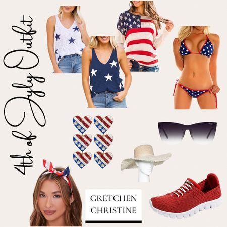 Shop my 4th of July outfit!   #LTKstyletip #LTKbeauty #LTKfit