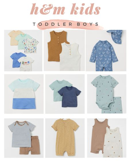 Summer clothes for toddler boys at H&M ☀️ http://liketk.it/3gRWA #liketkit @liketoknow.it #LTKbaby #LTKfamily
