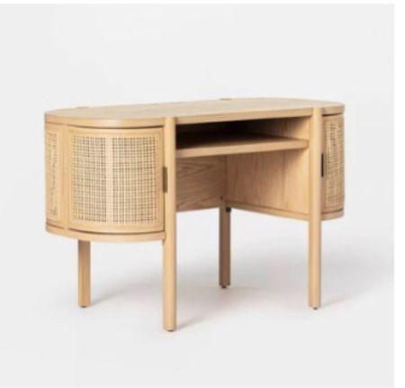 Boho style desk - home decor - studio mdgee   #LTKbacktoschool #LTKfamily #LTKhome