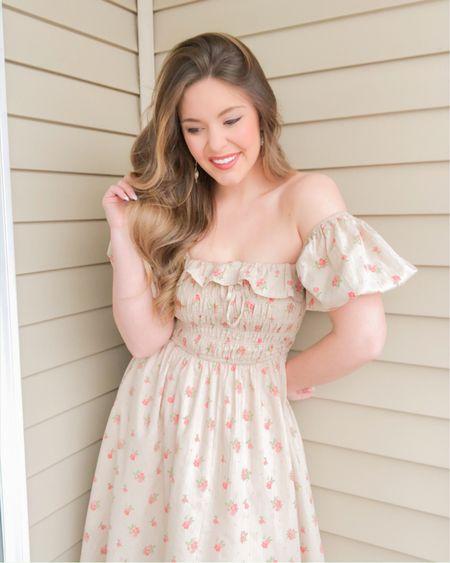 Floral spring dress & tops http://liketk.it/3akRl #liketkit @liketoknow.it #LTKSeasonal #LTKunder50 #LTKwedding spring dresses, floral dresses, baby shower dresses