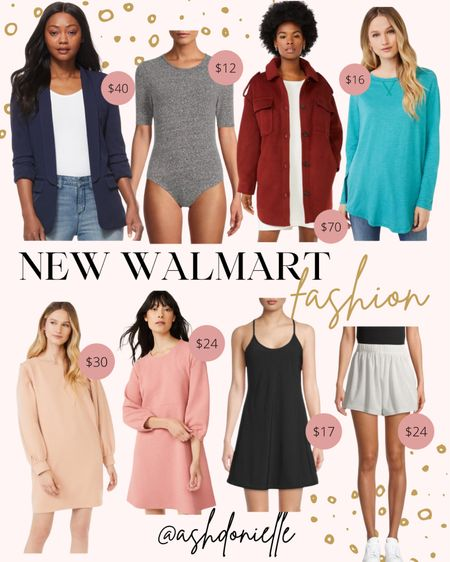 New Walmart fashion - bodysuit, jackets, dresses + more!  #LTKSeasonal #LTKunder100 #LTKstyletip