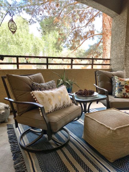 Back home & doing some cleaning after the last big rain storm. Love my little outdoor space to relax in!    #LTKhome