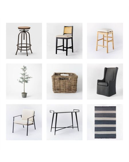 Target Studio McGee Sale!  Barstools, decorations, chairs, baskets, faux florals, faux tree  http://liketk.it/3dh1X #liketkit @liketoknow.it #LTKstyletip #LTKhome #LTKunder100