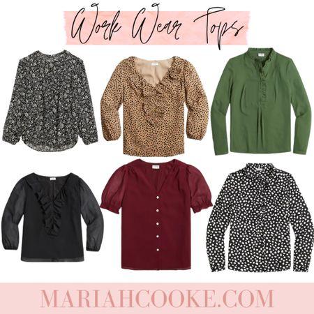 Work work tops/blouses   #LTKstyletip #LTKunder50 #LTKworkwear