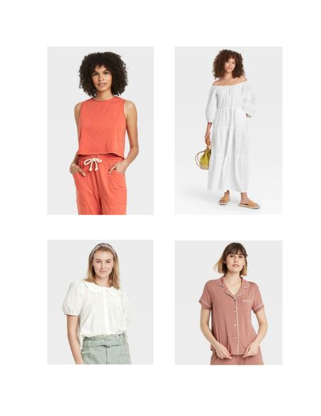 Sharing my Target picks for clothes too. I've had these on repeat!  #LTKSeasonal #LTKunder50 #LTKstyletip
