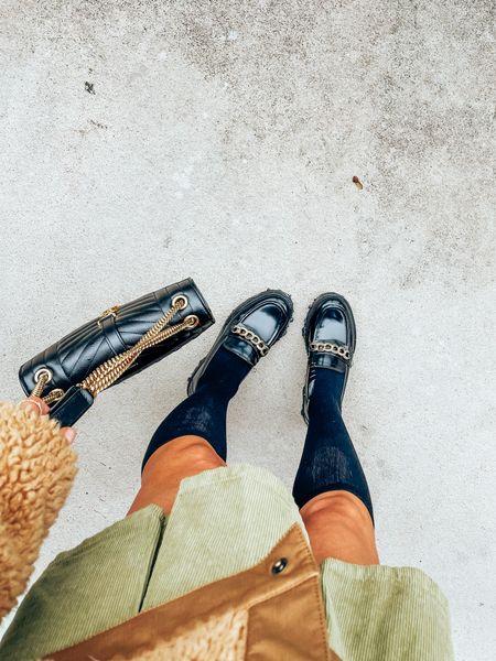 Chunky loafers are true to size!!!     #LTKitbag #LTKSeasonal #LTKshoecrush