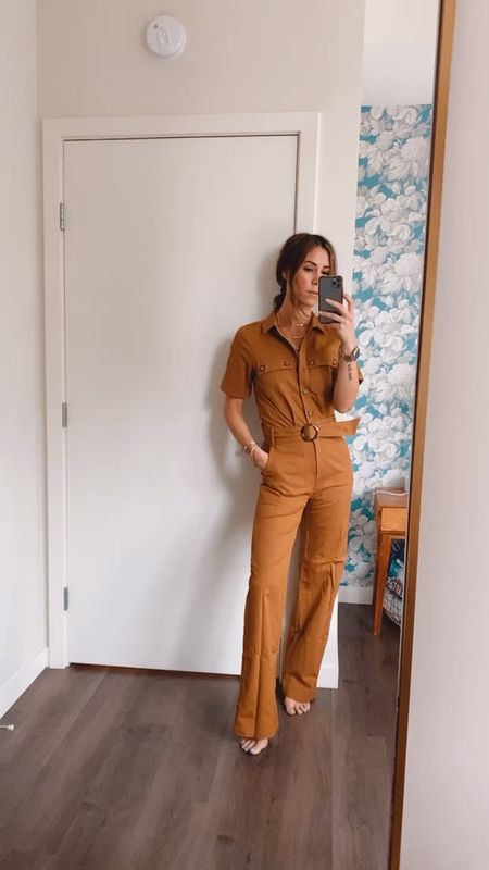 Floored by this insane jumpsuit from Sezane and it's $200 - fits like a glove!   #LTKstyletip