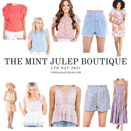 These summer pieces from the Mint Julep boutique are so colorful and cute! @liketoknow.it #liketkit #LTKDay #LTKsalealert #LTKunder100 http://liketk.it/3hcgh