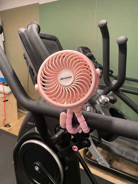 Portable rechargeable fan - wraps onto anything and 3 speeds. Love it! Under $25 prime   #LTKunder50 #LTKfamily #LTKfit