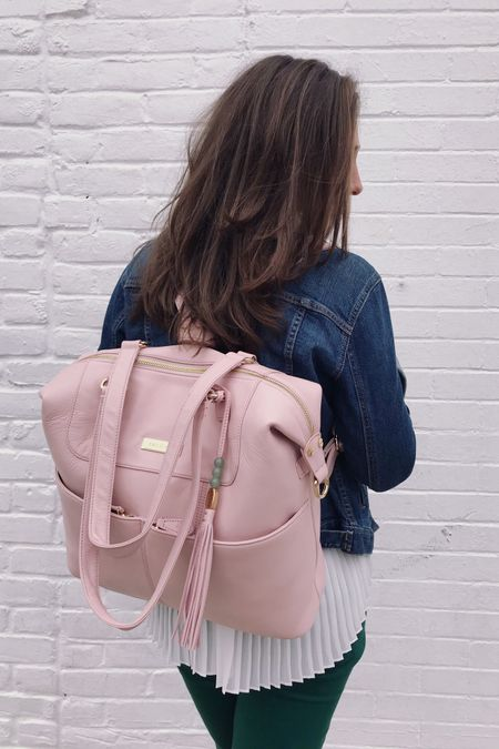 I'm all about the diaper bag backpacks for Working Mommas. I've listed my favorites based on size, quality, size of pockets for laptops, baby items and luxury. DM me for links! Sharing the Lilly and Jade in this picture! 1. Fawn Design Original Tan 2. Kanga Pack Black 3. Lilly and Jade Shaylee pink  . .  http://liketk.it/2Aqg8 #liketkit @liketoknow.it Download the LIKEtoKNOW.it app to shop this pic via screenshot