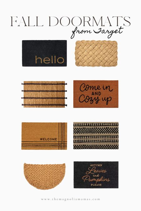 Tons of great new doormat options for fall! All less than $20!   #LTKhome #LTKSeasonal #LTKunder50