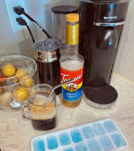 My coffee set up is my FAV 🤩 Definitely makes sleepy mornings easier 😅  #LTKbacktoschool #LTKSeasonal #LTKhome