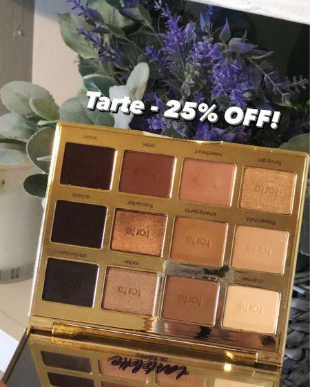 Tarte Cosmetics is currently 25% off right now during the #LTKDay sale! 🙌🏼 @liketoknow.it http://liketk.it/3hmsz #liketkit #LTKbeauty #LTKsalealert #eyeshadow #makeup #beauty