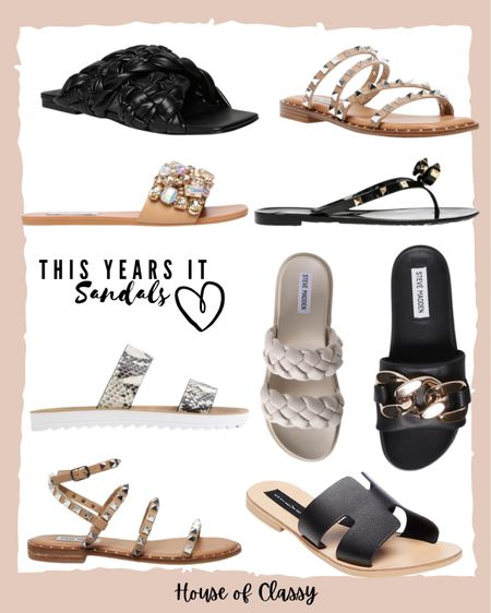 Sandals. Beach bag. Summer sandals. Affordable sandals. Shop my daily looks by following me on the LIKEtoKNOW.it shopping app http://liketk.it/3fAAW #liketkit @liketoknow.it #LTKshoecrush #LTKstyletip #LTKunder100