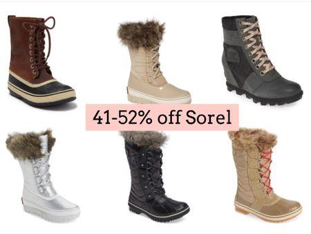 Sorel boots on sale   #LTKSeasonal #LTKsalealert #LTKshoecrush