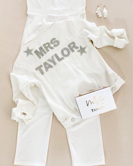 White MRS jacket by ModParty   http://liketk.it/3huFj #liketkit @liketoknow.it #LTKwedding #LTKsalealert #LTKstyletip