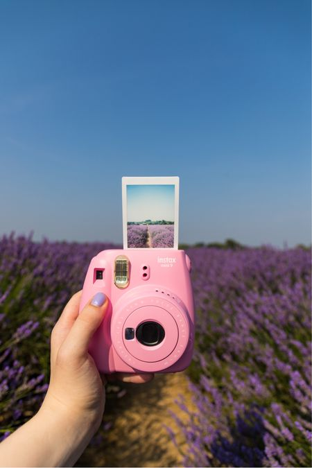 Instax camera perfect for instantly capturing images