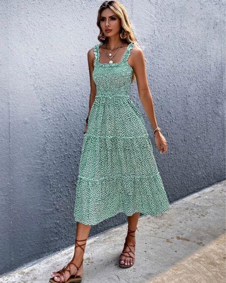 Summer dress  http://liketk.it/3fUba @liketoknow.it #liketkit #LTKstyletip #LTKshoecrush #LTKsalealert #summerdress