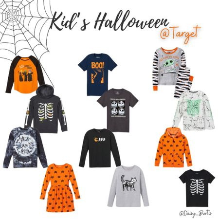 CUTE (I mean SPOOKY) kids Halloween clothing at Target!! These sell out quick! So grab your faves now!    #LTKkids #LTKHoliday #LTKSeasonal