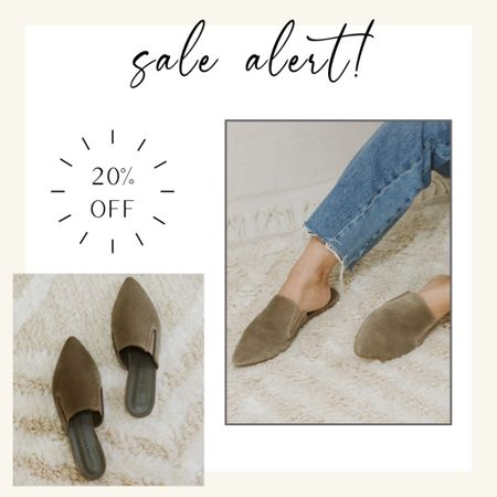 These timeless classic mules that never go on sale are 20% off this weekend! #mules #jennikayne  #LTKstyletip #LTKsalealert #LTKunder100