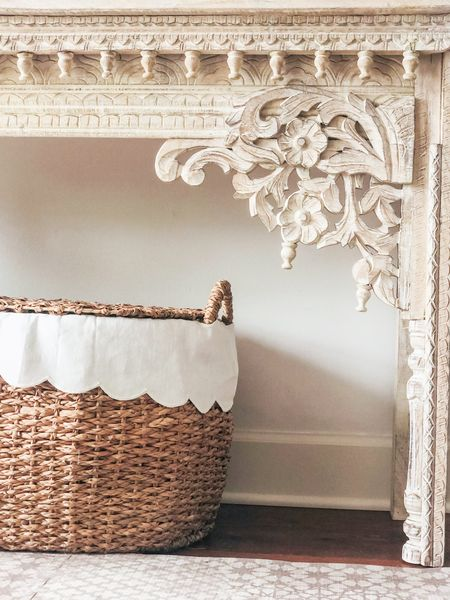 Set of 3 scalloped nesting baskets now 20% off 🙌🏻 My favorite for organizing toys and kids rooms 💕  #LTKsalealert #LTKstyletip #LTKhome