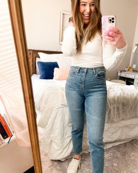Lovin the mom jean trend. Size down! http://liketk.it/39r6T @liketoknow.it #liketkit