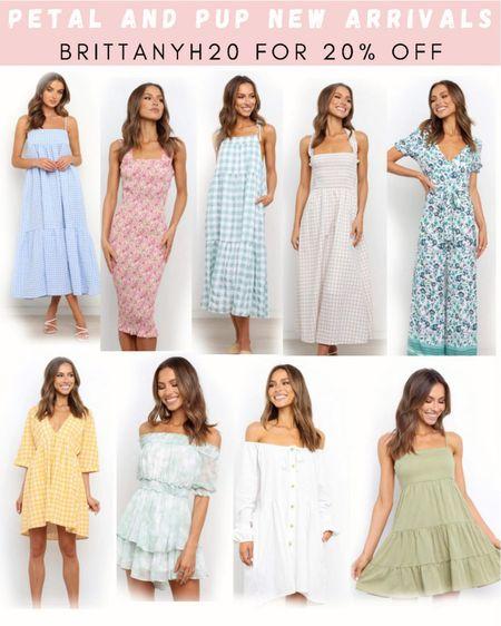 BRITTANYH20 for 20% off 💕 . . .  http://liketk.it/3hKOR #liketkit @liketoknow.it #LTKstyletip #LTKunder50 #LTKunder100 dress, summer dress, wedding guest dress, white dress, maxi dress, mini dress, midi dress