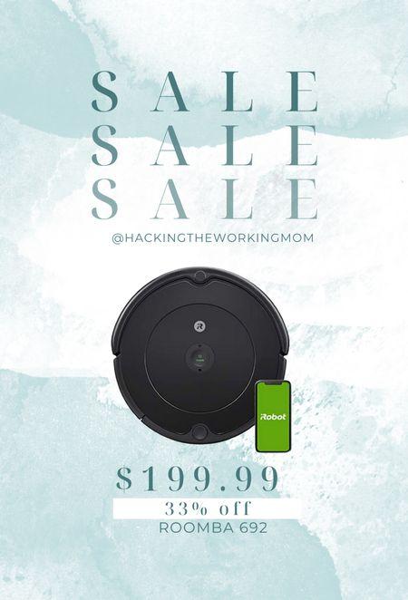 Roomba vacuum with wireless connectivity on Amazon prime day deal  #LTKsalealert #LTKhome #LTKfamily