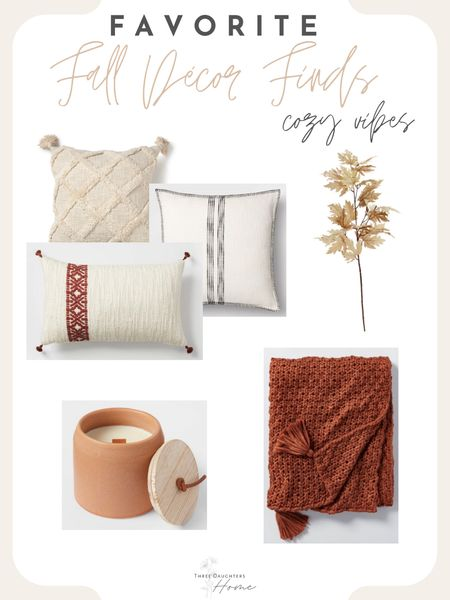 Fall styling, fall decor, fall cozies, fall pillows, fall candles, fall florals, fall blankets, target, fall target, Walmart, Fall Walmart, fall favorites  #LTKhome #LTKSeasonal #LTKunder50