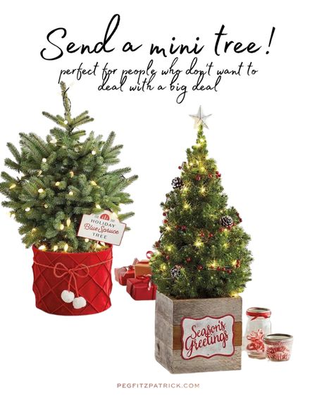 A cute little decorated tree without the hassle of a big tree. Perfect for people who don't want to mess around with lights and things. Send some holiday spirit! #LTKunder100 #LTKhome #LTKfamily http://liketk.it/32HMg #liketkit @liketoknow.it Screenshot this pic to get shoppable product details with the LIKEtoKNOW.it shopping app