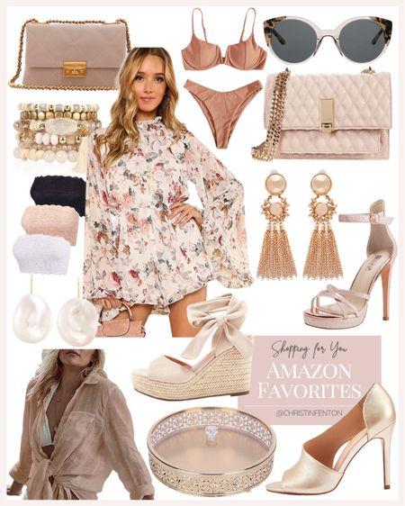 Amazon fashion finds! Click the products below to shop! Follow along @christinfenton for new looks & sales! @shop.ltk #liketkit #founditonamazon 🥰 So excited you are here with me! DM me on IG with questions! 🤍 XoX Christin  #LTKstyletip #LTKshoecrush #LTKcurves #LTKitbag #LTKsalealert #LTKwedding #LTKfit #LTKunder50 #LTKunder100 #LTKbeauty #LTKworkwear #LTKSale