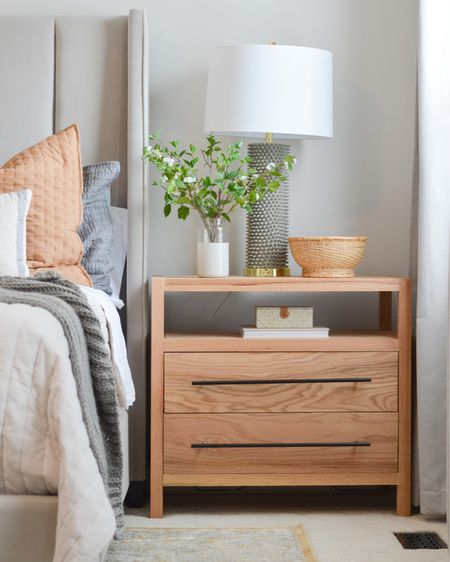 I MADE THIS! 🤩 I was inspired by a nightstand I saw online but the wait times were outrageous! I linked everything I could and plan to write up a blog post with my plans on how to make it. 👊🏼 http://liketk.it/3ijfs #liketkit @liketoknow.it #LTKhome @liketoknow.it.home